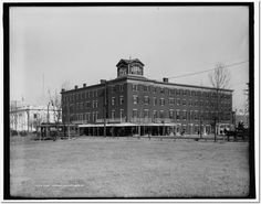 newport news virginia history | Hotel Warwick, Newport News, Va. | Print