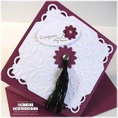 Razzleberry Graduation Card