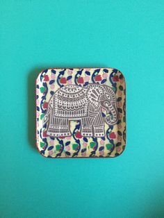 Decorative Elephant Tray by PeaceandPaintings on Etsy..everything is $10!