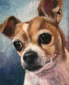 """Daily Paintworks - """"Puppy Love"""" by Pamela Hamilton"""