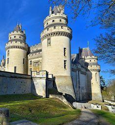 Château de Pierrefonds - Oise France