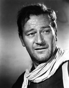I broke my favorite John Wayne movies into 2 lists: westerns and non-westerns. Westerns: Rio Bravo The Searchers She Wore A Yellow Rive. Vintage Hollywood, Classic Hollywood, Wayne Family, John Wayne Movies, The Searchers, John Ford, Actor John, Hollywood Stars, Hollywood Men
