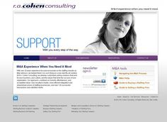 R.A. Cohen Consulting - New Website for Staffing