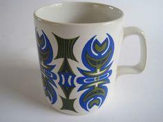 Fab Retro 1970s Staffordshire Potteries Mug