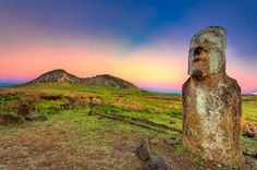 """Easter Island. Top of the """"if I had an extra one hundred thousand dollars and a stronger tolerance for obscenely long flights"""" list."""