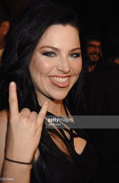 Amy Lee of Evanescence during MTV Video Music Awards Latin America 2006 - Red…