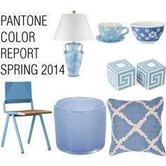 Pantone Color Report Spring 2014 - Placid Blue - Polyvore