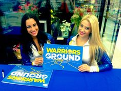 On April 18, Amira and Casey spent time with fans at Lucky Supermarket in Oakland. They also helped out with that day's Playoff Ticket Scavenger Hunt Challenge – finding a Klay Thompson bobblehead hidden in the store.