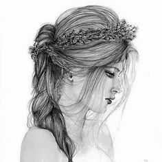 Girl with Flower Crown Drawing Easy Girl with Flower Crown Drawing Easy. Girl with Flower Crown Drawing Easy. Pin On Awesome in flower crown drawing Pin on Awesome Sad Girl Art, Sad Girl Drawing, Tumblr Girl Drawing, Tumblr Drawings, Beautiful Girl Drawing, Girl Drawing Sketches, Girl Sketch, Easy Drawings, Drawing Ideas