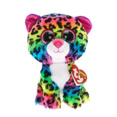 TY Beanie Boo Small Dotty the Leopard Soft Toy
