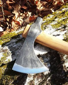 Hand forged tomahawk. #JustinBurkeTraditionalCraftsman #tomahawk #axe #blacksmithing #handforged #handmade