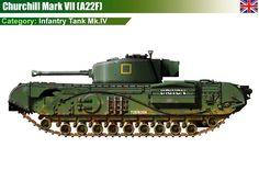 Infantry Tank Mk.IV Churchill Mk.VII