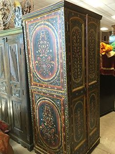 Indian Cabinet Floral Hand Painted Doors Reclaimed Antiqu... https://www.amazon.com/dp/B01E57IUTG/ref=cm_sw_r_pi_dp_x_kig9xbZXM4623