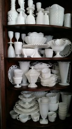 It Doesn't Get Much Prettier Than Milk Glass! Learn How To Identify These Beautiful Pieces.