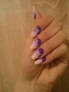 #balet #coffin #purple #summer #yellow #pink #airbrush #nails