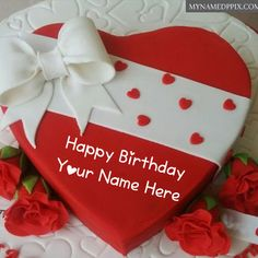 Heart Design Happy Birthday Red Cake Name Wishes Images. Red Heart Look Birthday Cake. Birthday Cake With Name Photo Edit Online Create Free. New Birthday Cake On Name. Send Birthday Cake, Happy Birthday Chocolate Cake, Heart Birthday Cake, Happy Birthday Hearts, Unique Birthday Cakes, Happy Birthday Cake Images, Birthday Chocolates, Beautiful Birthday Cakes, Purple Birthday