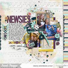 Credits: Feel the Music Bundle by Sugary Fancy  Cindy's Layered Templates - Set 201 by Cindy Schneider  DJB Fancy Nancy Layout by Kjersti Sudweeks