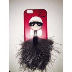 """Karlito"" fendi logo iPhone 6 case Hot pink ""Karlito"" iPhone 6 case. Accessories Phone Cases"