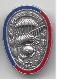 "Distintivo del 1° Btg. Carabinieri Paracadutisti ""Tuscania"""