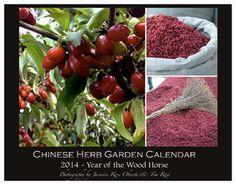 Chinese Herb Garden Calendar - 2014   (Standard Size)