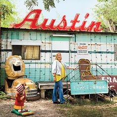Fun places in Austin! Info: Texas native and UT grad Jennifer McKenzie Frazier shares what makes the outdoorsy home to Whole Foods and Longhorn football the city with the most swagger in the South. Road Trip Usa, Texas Roadtrip, Texas Travel, Travel Usa, Vacation Trips, Dream Vacations, Vacation Spots, Vacation Ideas, Austin Texas