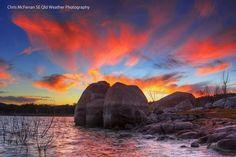 Leslie Dam Warwick Queensland. Aust