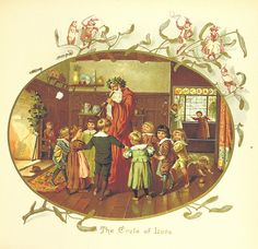 Image taken from page 17 of 'The Coming of Father Christmas' | by The British Library