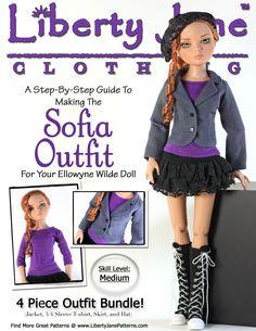 Sofia Outfit for Ellowyne Dolls
