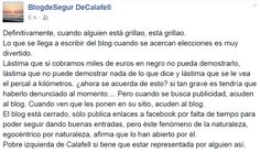"WEBSEGUR.com: EL GRAN RETO DE UN ""POLÍTICO"" (Revenido) AL BLOG D..."