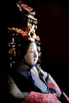 Hina doll, Japan Heian Period, Doll Japan, Asian Doll, Ichimatsu, China Dolls, Wooden Dolls, Japan Art, Girl Day, Doll Crafts