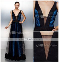 ts couture® vestido de noche formal más tamaño / pequeño una línea V-cuello…