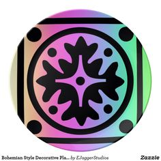 Choose from a variety of Bohemian plate designs or create your own! Shop now for custom plates & more! Browse our pre-existing designs or create your own on Zazzle today! Plates For Sale, Plate Design, Bohemian Style, Decorative Plates, Creative, Artist, Gifts, Plaque Design, Presents