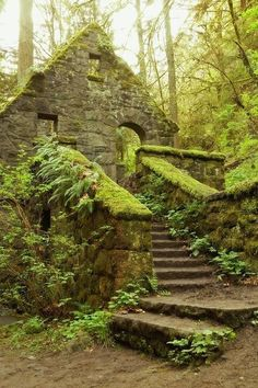 Stone House - Portland, Oregon,
