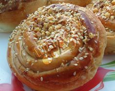 Cevizli Tahinli Çörek Bagel, Bread, Breakfast, Food, Morning Coffee, Brot, Essen, Baking, Meals