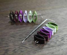 Modern Paper Earrings - Stax