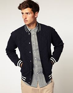 I don't know why, but I love Varsity Jackets... it's one of the few reasons I'm glad we have Americans :)
