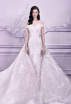 20 Stunning Non-White Wedding Dresses for the Bold and Daring - Wedding Dress by Michael Cinco
