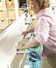 Ready, Set, Quilt! Step by step how to load a longarm machine.