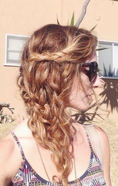 Mermaid-inspired braid