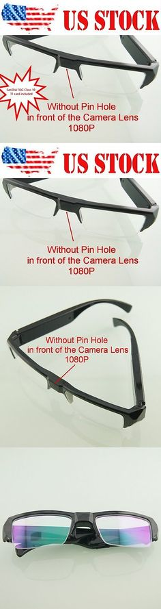 56c9630315f2 1080P Clear Lens Full Frame Spy Glasses