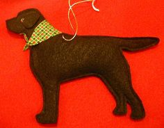 dog ornament patterns | felt lab ornament personalized free price $ 6 95 this item is in stock ...
