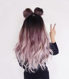15 Amazing Dark Ombre Hair Color Ideas to Make You Look Trendy - Hair Styles Woman Dark Ombre Hair, Ombre Hair Color, White Ombre, Pastel Ombre Hair, Long Pink Hair, Purple Ombre, Blonde Ombre, Dark To Light Ombre, Brown And Pink Hair