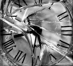 smashed clock face - Google Search