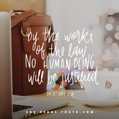 Day 4 of the Galatians reading plan from She Reads Truth   Freedom From the Law Join us at SheReadsTruth.com or on the SRT app!