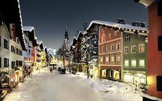 Kitzbühel village