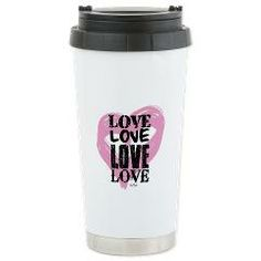 Love Mug Stainless Steel: Keep your beverage hot or cold for extended periods of time with our insulated stainless steel travel mug. #mug #travel #love #cute #home