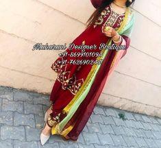 Buy Punjabi Designer Boutique Suits | Maharani Designer Boutique