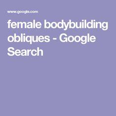 female bodybuilding obliques - Google Search