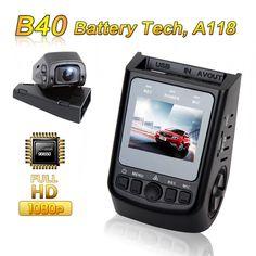 무료 배송! Blueskysea DVR B40 A118 Novatek 96650 풀 HD 1080 마력 6 그램 렌즈 H.264 미니 자동차 대시 카메라 비디오 레코더 Dashcam