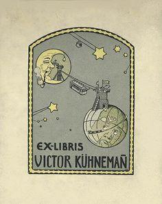 ≡ Bookplate Estate ≡ vintage ex libris labels︱artful book plates - Mathilde Ade, 1906